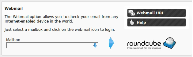 Check your mail online, using NTC Hositing's Webmail clients