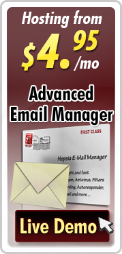 Advanched E-mail Manager