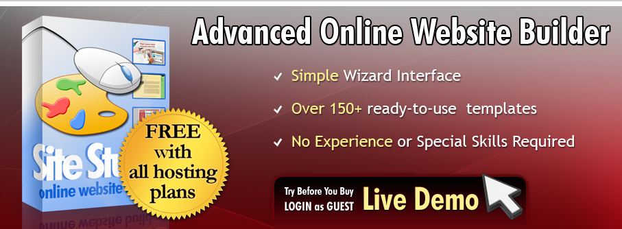 Advanced Online Website Builder