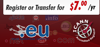 .eu domain registration or transfer